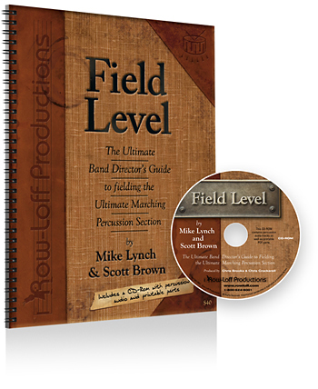 Row-Loff Productions Percussion Literature - Field Level - Lynch/Brown